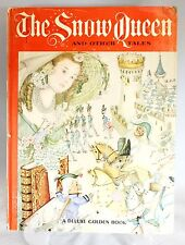 1961 Snow Queen & Other Tales Deluxe Golden Book Illustrated by Adrienne Segur
