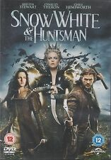 SNOW WHITE AND THE HUNTSMAN - Kristen Stewart, Charlize Theron (DVD 2012)