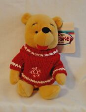 Disney Beanies - Winnie the Pooh With Snowflake on his Sweater Beanie