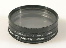SET OF 3 49MM FILTERS (UV, 1A, AND POLARIZER)