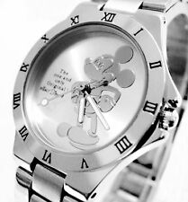 lady women girl cartoon Disney Mickey Mouse Quartz Wrist Watch=FREE BATTERY*