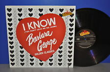 Barbara George - I know USA Collectables re M- ! Vinyl LP clean sauber