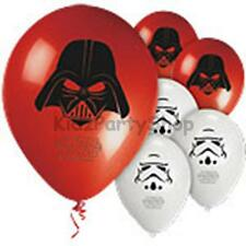 Star Wars Birthday Party - 8 Latex Balloons - Free Postage in UK
