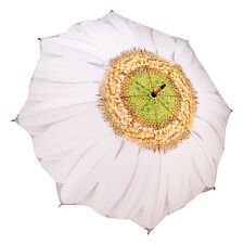 Galleria Stick Umbrella - White Daisy