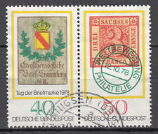 BRD 1978 MER. n. 980-981 ZD timbrato LUSSO!!! (21568)