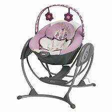 Graco 1925684 Glider LX Gliding BABY Swing, PORTABLE TODDLER SWING, Allison