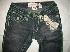 LAGUNA BEACH Mädchen Denim Jeans Strech Skinny Hand Made USA Gr.24 LP249€ Neuw