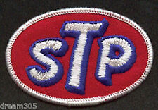 Vintage STP OIL Motorcycle Drag Car Race Hot Rod Patch Badge for Hat or Shirt!
