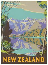 "Art New Zealand Travel Poster Vintage Rare Hot New 12x18"" TR114"