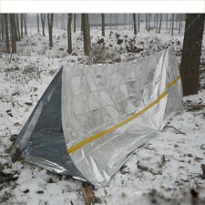 Outdoor Pro Emergency Survival Tent Tube Camping Shelter Sleeping First Aid Tent