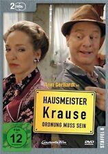 HAUSMEISTER KRAUSE STAFFEL 8 - TOM GERHARDT, IRENE SCHWARZ - 2 DVD NEU