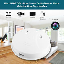 SPY Camera Hidden DVR Mini HD Smoke Detector Motion Detection Video Recorder Cam
