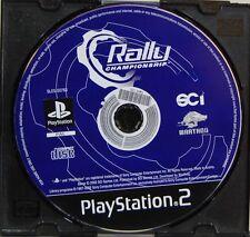 RALLY CHAMPIONSHIP - PLAYSTATION 2 - PAL ESPAÑA - SOLO CD DE JUEGO