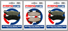 Honda TRX 250 R 86-89 Front & Rear Brake Pads Full set (3 Pairs)