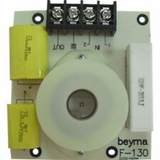 2x BEYMA f130 High pass Filtre 3 kHz 300w 18 dB/oct