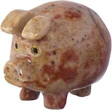 Peruvian Dolomite Lucky Pig Spirit Animal Pocket Totem!