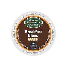 Green Mountain Breakfast Blend DECAF Coffee K-Cups For Keurig Brewers - 96 Count