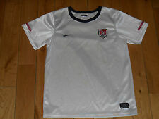 AUTHENTIC NIKE USA SOCCER NATIONAL TEAM 2010 HOME JERSEY KIDS SIZE 7X XL DONOVAN