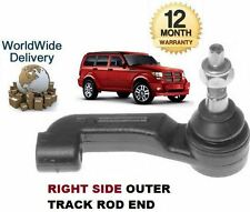 FOR DODGE NITRO 2.8DT 3.7i 2007--  NEW RIGHT RH OUTER TRACK TIE RACK ROD END