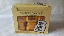 Yankee Candle Harvest Easy Clean Jar shaped wax melts HTF Deerfield box of 24