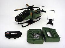 GI JOE RAZOR BLADE Vintage Action Figure Vehicle Helicopter COMPLETE 1994
