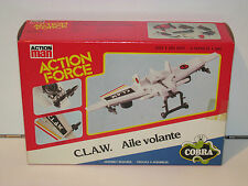 1985 GI JOE / ACTION FORCE COBRA C.L.A.W. MISB SEALED BOX - PALITOY UK