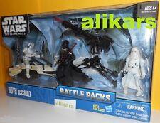 Battle Pack HOTH ASSAULT Biker Scout Speeder Bike Darth Vader Clone Star Wars