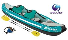 CANOA KAYAK MADISON KIT SEVLOR - SACCA TRASPORTO - PINNA - MANOMETRO + 2 PAGAIE