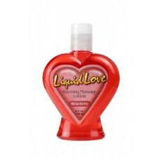 Liquid Love WARMING and TASTY Massage Oil STRAWBERRY Flavour Hot Edible 118ml
