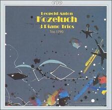 Kozeluch: 3 Piano Trios (P.IX 15, 14, 18) /Trio 1790, New Music