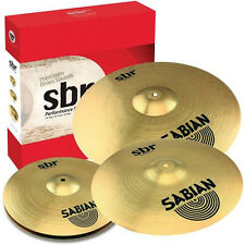 "Sabian SBr Performance SBR5003 Cymbal Set Pack (14"" Hats, 16"" Crash, 20"" Ride)"