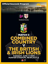 Combinado país V British & Irish Lions 11 Jun 2013 Rugby programa Perfecto