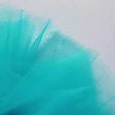 Helles Türkis Jade Fein Tüll stoff 300cm breit von der M Braut Abschlussball