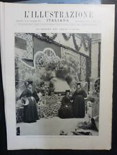 ILLUSTRAZIONE ITALIANA - N 42/1927 -BATTAGLIA DEL GRANO -NUOVA PROVINCIA PISTOIA
