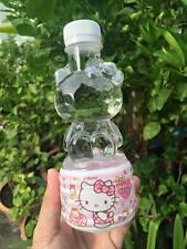 Hello Kitty Sanrio 3D Empty Plastic Bottle Safe Mineral Water X2