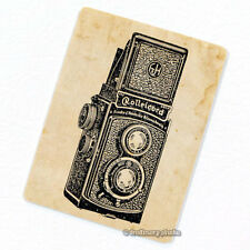 Twin Lens Reflex Camera #1 Deco Magnet, Decorative Fridge Photography Gift Decor