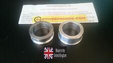 Suzuki GSXR 600 & 750  2004 - 05 Captive wheel spacers. Rear wheel set