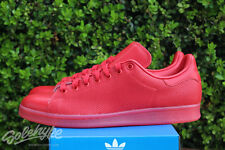 ADIDAS ORIGINALS STAN SMITH ADICOLOR SZ 13 SCARLET RED S80248