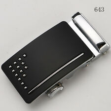 Fashion Mens Automatic Metal Belt Buckle Business Without Belt Strap Wristband