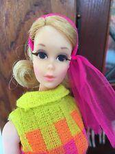 Vintage 1970 Barbie Blond Walking Jamie Doll #1132 Sears Exclusive Excellent