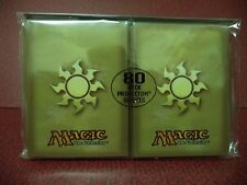 Ultra Pro MTG Plains White Mana Symbol deck protector sleeves X5