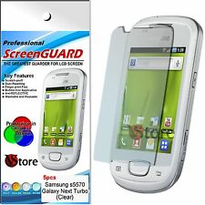 5 Pellicole Per Samsung S5570 GALAXY NEXT TURBO Pellicola Salva Schermo Display