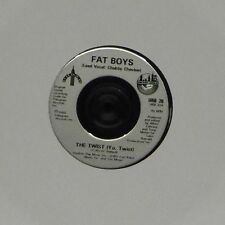 "FAT BOYS 'THE TWIST (YO, TWIST)' UK 7"" SINGLE"