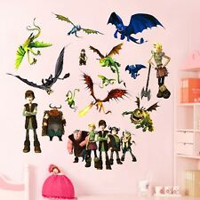 Movie How to Train Your Dragon Wall Sticker PVC Vinyl Decals Kids Room Decor DIY