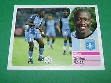 KHALILOU FADIGA AJ AUXERRE AJA PANINI FOOT 2003 FOOTBALL 2002-2003