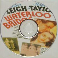 DRAMA: WATERLOO BRIDGE (1940) Mervyn LeRoy Vivien Leigh, Robert Taylor