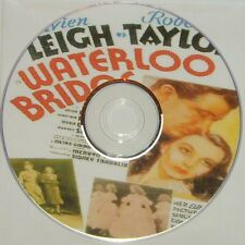 DRAMA: WATERLOO BRIDGE (1940) Mervyn LeRoy Vivien Leigh, Robert Taylor