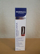 NEW~MAVALA~EYE-LITE CREAMY MASCARA~LENGTHENS & STRENGTHENS LASHES~BROWN~10ML