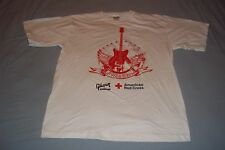 American Red Cross Rock N Roll Up Your Sleeve Gibson Foundation T-Shirt Mens Med