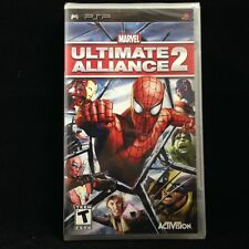 Marvel: Ultimate Alliance 2 (Sony PSP, 2009) BRAND NEW  / Region Free